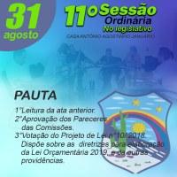 11º Sessão Ordinária