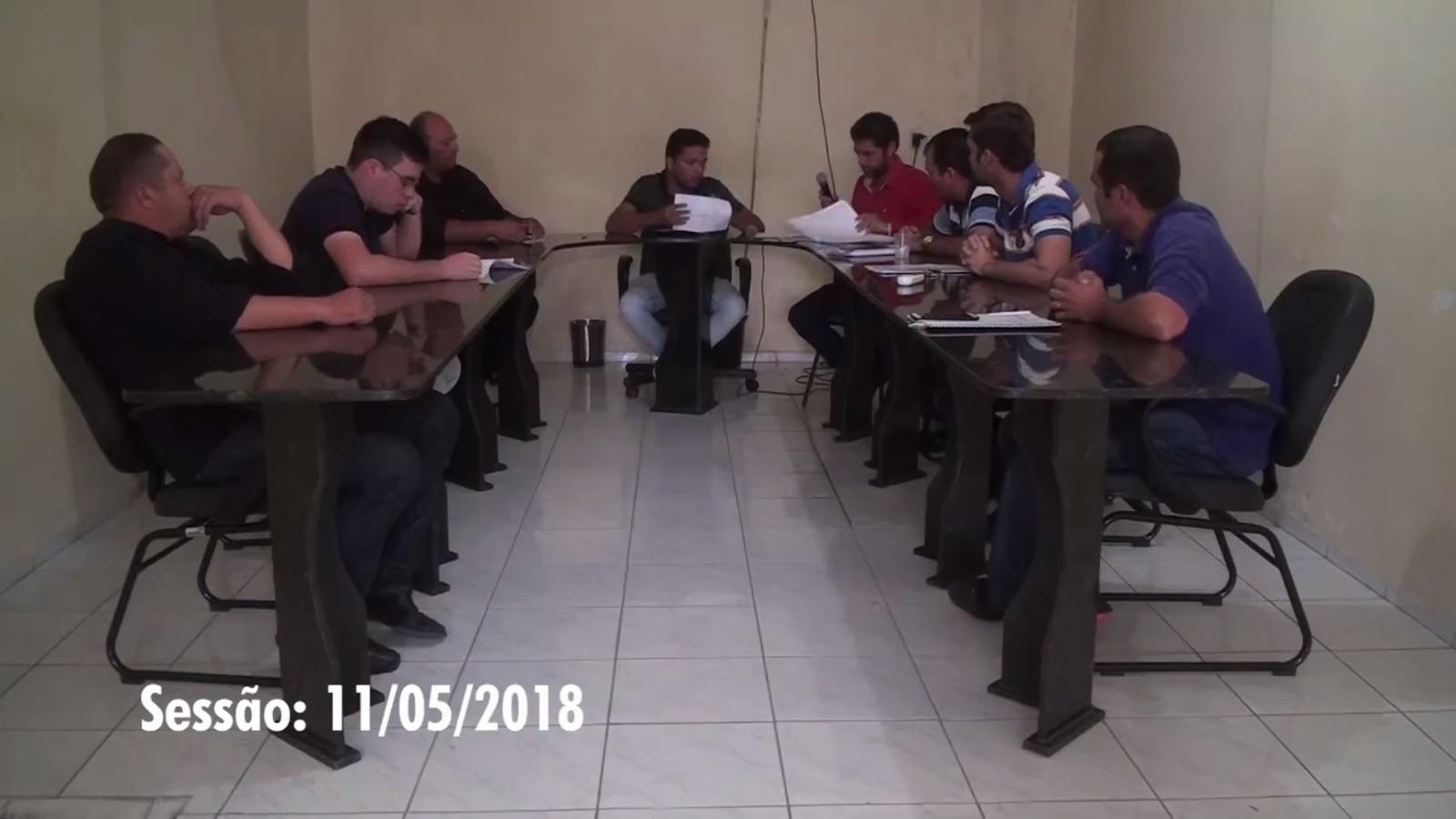 6º SESSÃO ORDINARIA DA CÂMARA MUNICIPAL